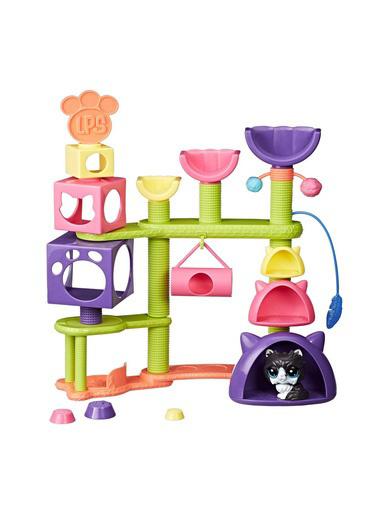 Littlest Pet Shop Littlest Pet Shop Kedi Miniş Eğlence Parki Renkli